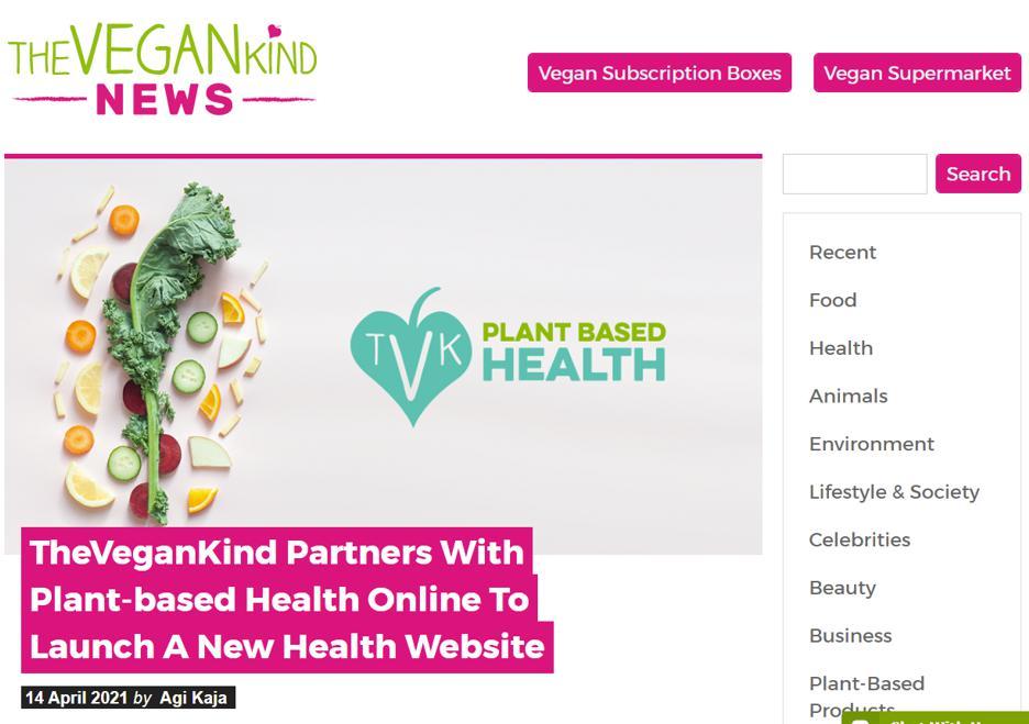 The Vegan Kind Health Apr21