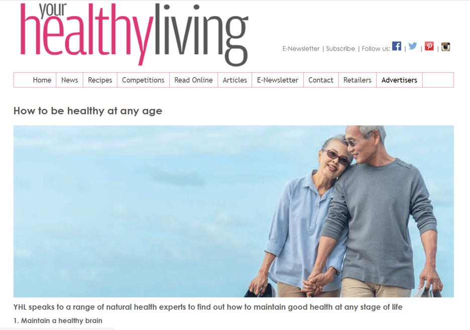 Your healthy living Apr21